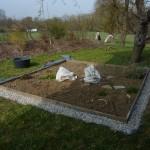 Start fürs neue Diamond Gardening Jahr mit neuer Umrandung